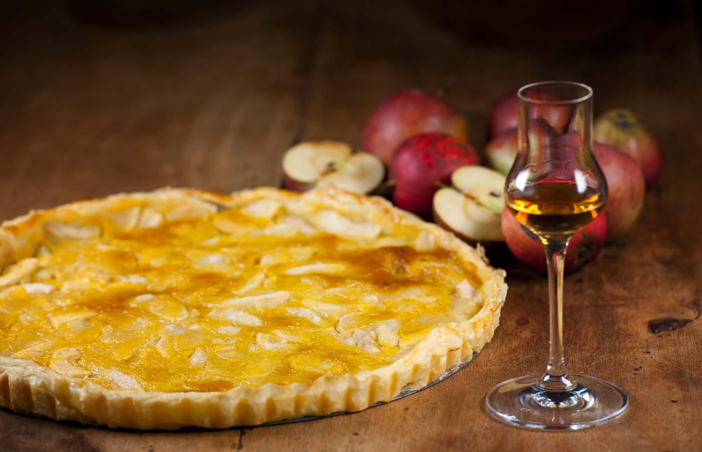 Norman apple pie